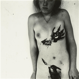 Francesca Woodman, UNTITLED, PROVIDENCE, RHODE ISLAND, RELATING TO PORTRAIT OF A REPUTATION