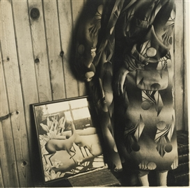 Artwork by Francesca Woodman, DALE CHIHULY BATHROBE, Made of photograph