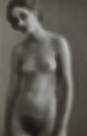 Artwork by Frederick Sommer, Untitled (Lee Nevin), Made of Gelatin silver print