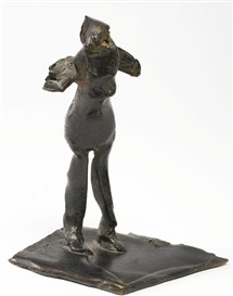 Artwork by Germaine Richier, Femme-coq no. 2, Made of Bronze