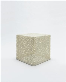 Artwork by Marcel Wanders, Prototype Lace Table, Made of Resin-coated Swiss lace