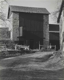 Artwork by Charles Sheeler, Bucks County Barn, 1915, Made of gelatin silver print
