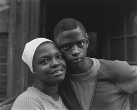 Artwork by Bruce Davidson, Couple, East 100th Street, 1966, Made of gelatin silver print