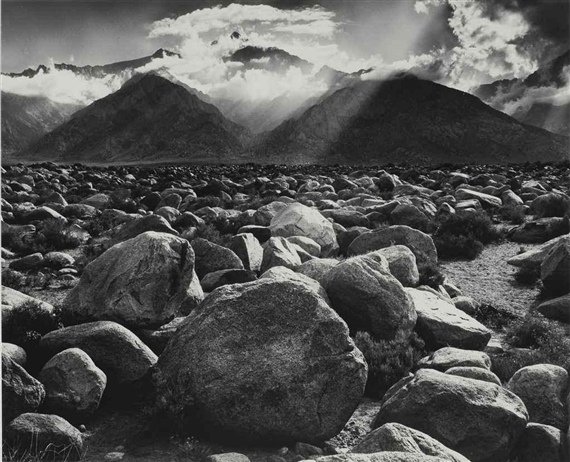 Adams Ansel | Clearing Storm, Mt. Williamson, Sierra ... Ansel Adams Clearing Winter Storm Analysis