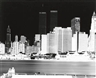 Vera Lutter, Lower Manhattan skyline with Twin Towers