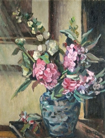 Grace Henry, THE BLUE VASE