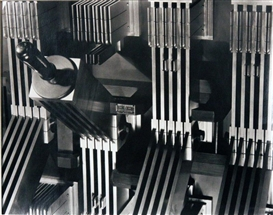 Artwork by Ralph Steiner, Power Switch, Made of Gelatin Silver Print