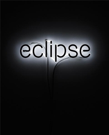 Artwork by Cerith Wyn Evans, Eclipse, Made of negative neon