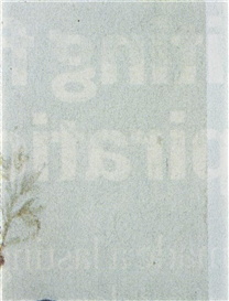Artwork by Matias Faldbakken, Newspaper Ad 02, Made of Lightjet print on Fuji Crystal archival paper