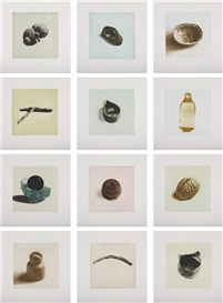 Rachel Whiteread, 12 Works: 12 Objects, 12 Etchings