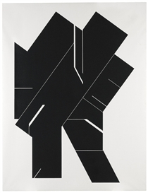 Artwork by Pablo Palazuelo, Angular I, Made of Oil on canvas
