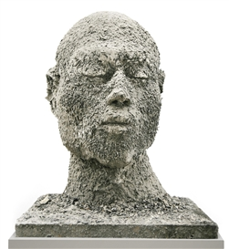 Zhang Huan, Ash Head No.12 (Medium)