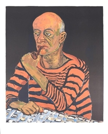 Artwork by Alice Neel, John, Made of Lithograph