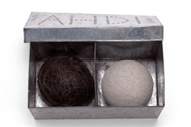 Artwork by Ann Hamilton, Untitled, Made of Galvanized tin box