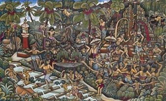 Bali Festival By Ida Bagus Made Widja ,1976