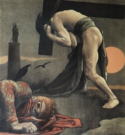 Artwork by Felix Jenewein, From the Series Plague, Made of Lithography