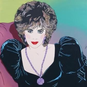 Elizabeth Taylor By Clayton Lefevre ,1984