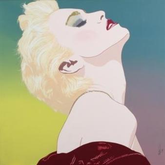 Madonna By Clayton Lefevre ,1987