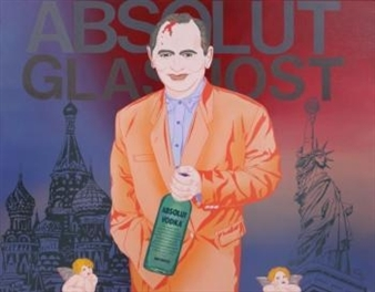 Absolute Glasnost By Clayton Lefevre ,1990