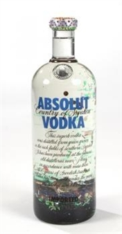 Absolut Vodka bottle By Clayton Lefevre