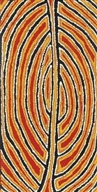 Artwork by Eileen Napaltjarri, Untitled, Made of acrylic on linen