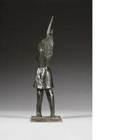 Artwork by Germaine Richier, Guerrier N°4, Made of bronze