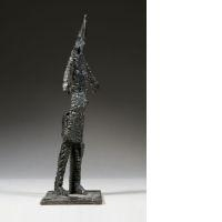 Artwork by Germaine Richier, Guerrier N°15, Made of bronze