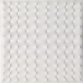 Artwork by Enrico Castellani, Untitled, Made of plastic