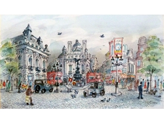Piccadilly By Albin Trowski