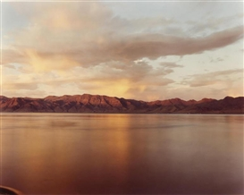 Artwork by Richard Misrach, Pyramid Lake #6, Made of Chromogenic print