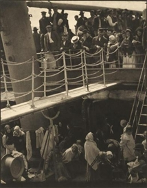 Artwork by Alfred Stieglitz, The Steerage, Made of Large-format photogravure on vellum
