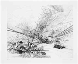 Julie Mehretu, Untitled (Edition Parkett 76)