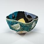Artwork by Phillip Maberry, Folded Bowl, Made of Porcelain