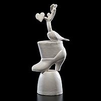 Artwork by Lucian Octavius Pompili, Untitled, Made of Porcelain