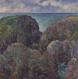 Claude Monet, Bloc de rochers à Port-Goulphar