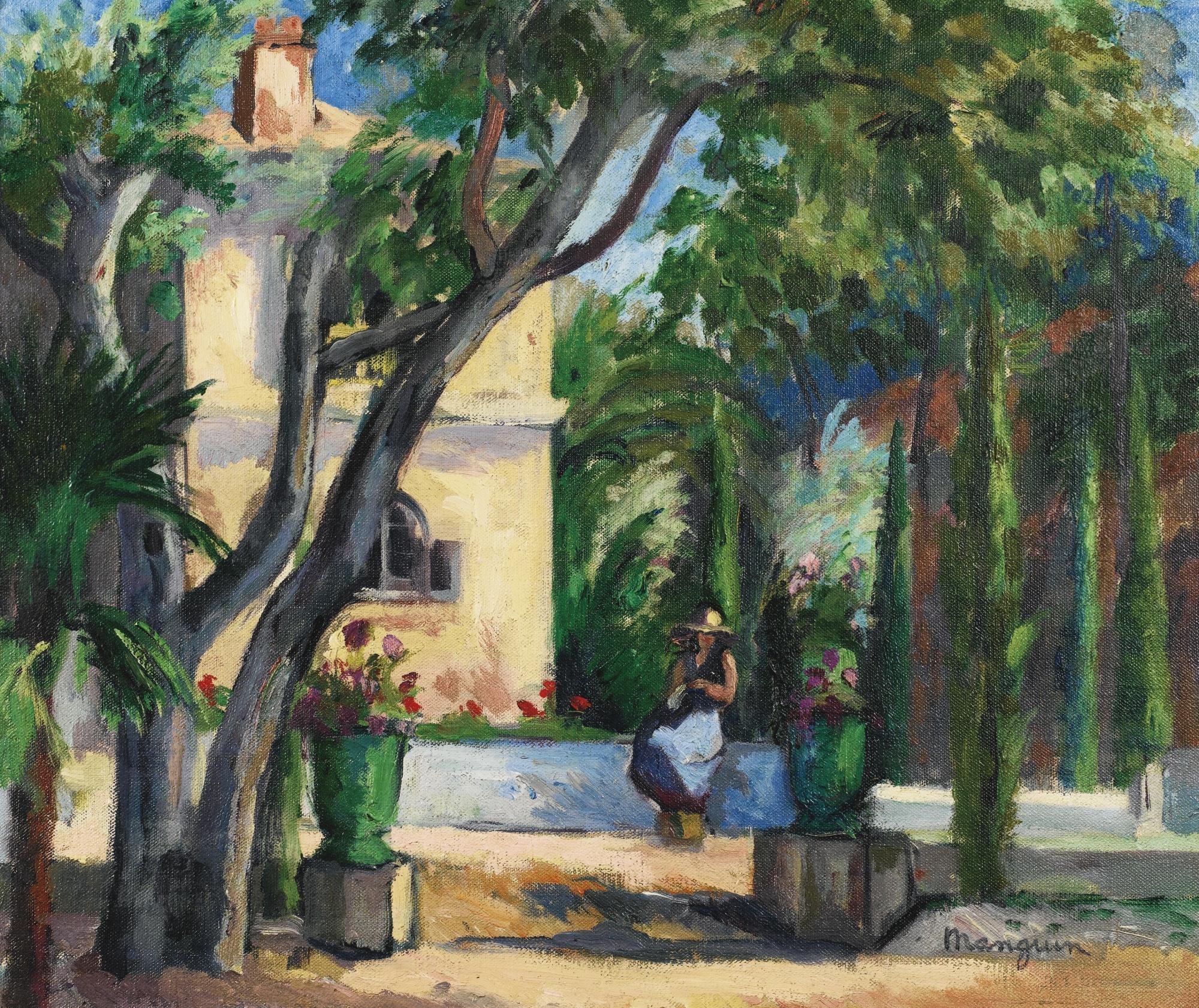 Henri charles manguin le jardin de l 39 oustalet for Le jardin henri vinay