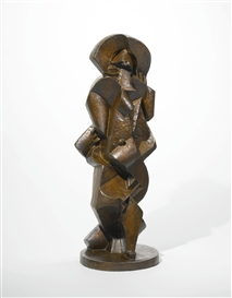 Artwork by Jacques Lipchitz, BAIGNEUSE III, Made of Bronze
