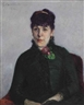 Gustave Caillebotte, La femme à la rose