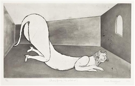 Louise Bourgeois, Champ fleury (The White Cat)