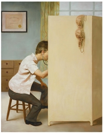 John Currin, THE DREAM OF THE DOCTOR