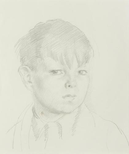 Henry Lamb, Portrait of a young boy