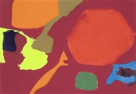 Artwork by Patrick Heron, January 3: 1983: II, Made of gouache