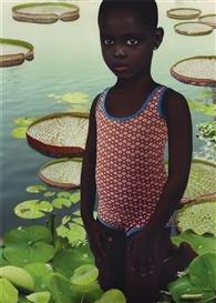 Artwork by Ruud van Empel, World #22, Made of Dye destruction print, Diasec mounted