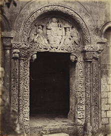 Artwork by Roger Fenton, Prior's Porch, Ely Cathedral, Made of Albumen print from collodian wet plate