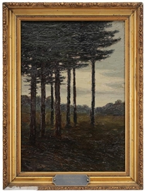 Charles Warren Eaton, The Pines