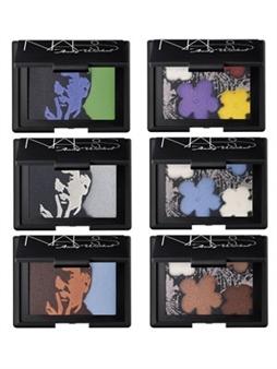 Warhol's NARS makeup