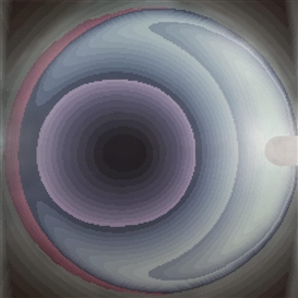 Artwork by Jack Goldstein, Untitled (Circles), Made of Acrylic on canvas