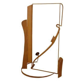 Artwork by Anthony Caro, Catalan Spur, Made of Steel, bronze and wood