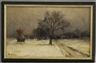 Francois B. Deblois, Snowy Winter Day