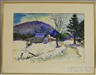 Charles Peter Demetropoulos, Winter Farm in New England